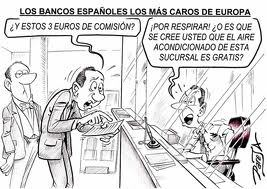 Comisiones de Bankia