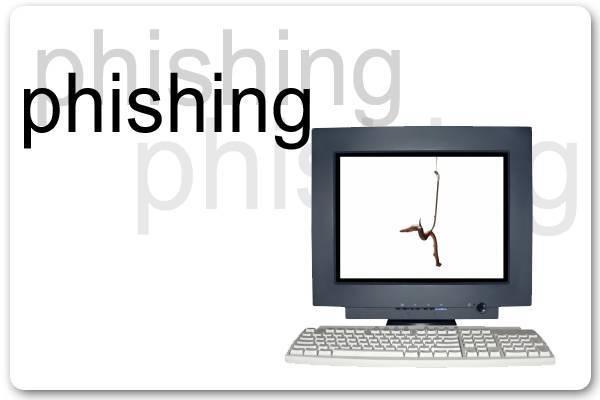 """Delitos Informáticos: 2.-Phishing: """"Pescar el anzuelo""""."""