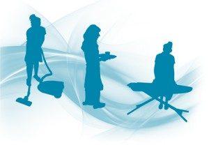 Empleadas de hogar. Cámaras de videovigilancia
