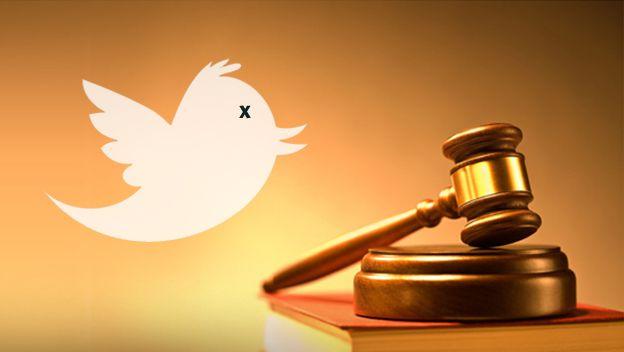 Delitos cometidos a través de Twitter.