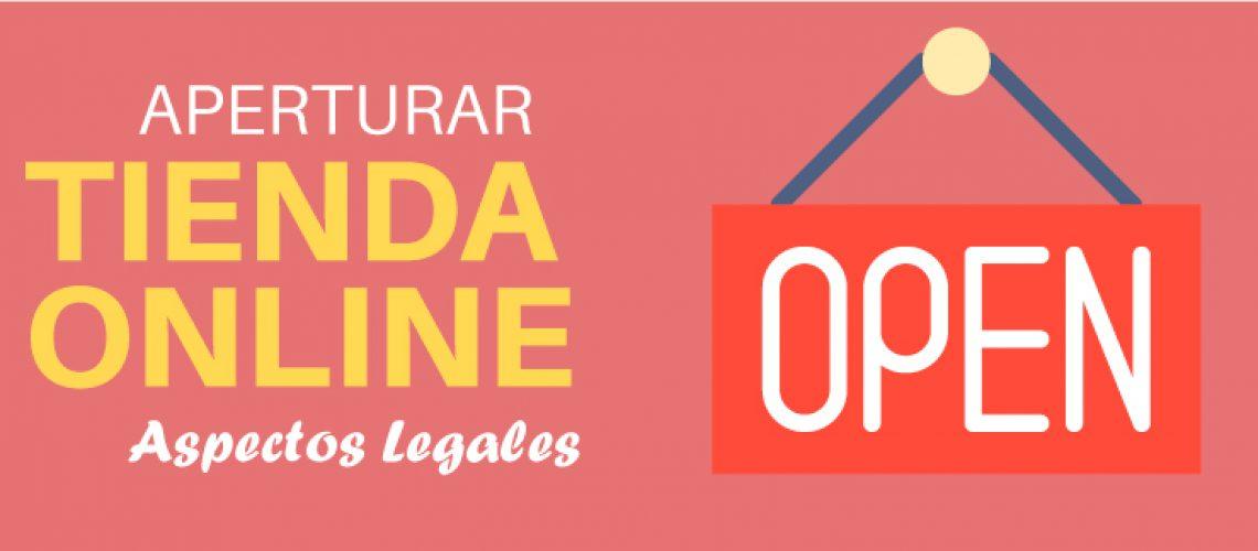 ASPECTOS LEGALES TIENDA ONLINE